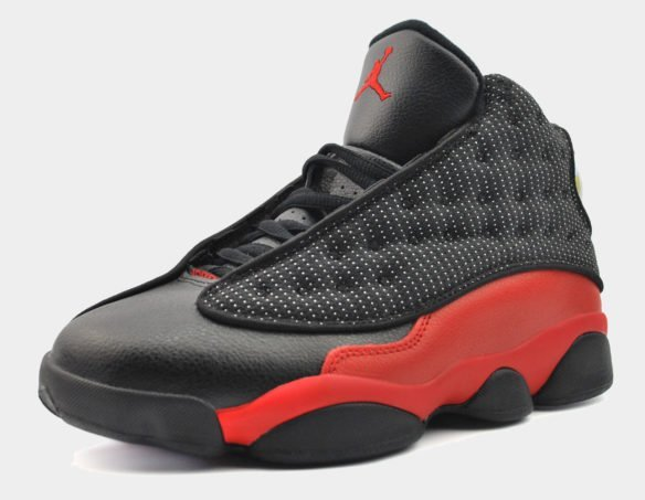 Nike Jordan 13 черные с красным